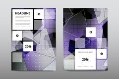 Brochure layout template flyer design vector, Magazine booklet cover abstract - stock illustration