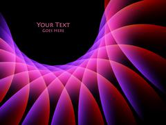 Bright abstract background Stock Illustration