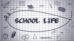School Life Stock After Effects
