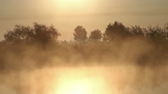 The Smoke at Dawn Stock Footage