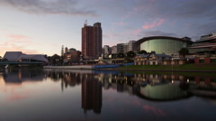 4K Timelapse Adelaide Convention Centre Stock Footage