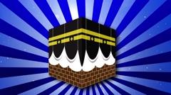 Kaaba Background 05 Stock Footage