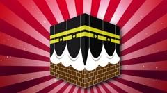 Kaaba Background 04 Stock Footage