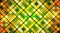 Broadcast Twinkling Cubic Diamonds, Green, Abstract, Loopable, 4K Stock Footage