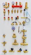 Different taps Stock Photos