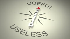 Useful Versus Useless Stock Footage