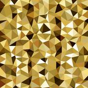 Kaleidoscopic low poly triangle style vector mosaic background Stock Illustration