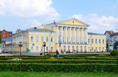 House of General Borshchov on Susaninskaya square, Kostroma, Russia Stock Photos