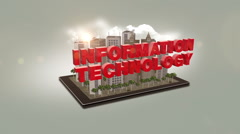 Information Technology Stock Footage