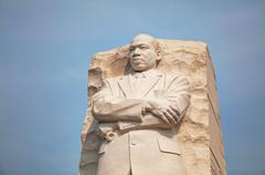 Martin Luther King, Jr memorial monument in Washington, DC Stock Photos