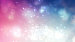 Journey in the abstract clouds Stock Footage