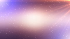 Abstract space journey background animation Stock Footage
