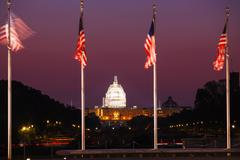 State Capitol building in Washington, DC Stock Photos