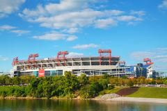 LP Field in Nashville, TN Stock Photos