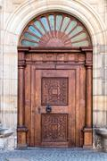 Decorative door with portal at Prague Castle Kuvituskuvat