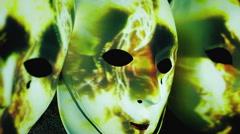 Masks scary abstract light strikes Arkistovideo