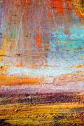 Painting Artistic bright color oil paints texture abstract artwork. Modern Stock Photos