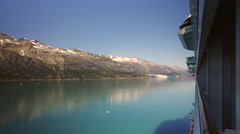 Cruising In Glacier Bay National Park Alaska Stock Footage