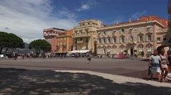 Prince's palace of Monaco, ULTRA HD 4k, real time Stock Footage