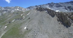 4K Aerial, Parco Naturale Del Gran Bosco Di Salbertrand, Italy - native version Stock Footage