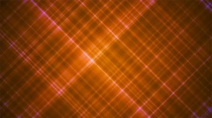 Broadcast Intersecting Hi-Tech Slant Lines, Orange, Abstract, Loopable, 4K Stock Footage