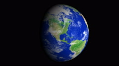 4K Earth Zoom: Dallas – USA Stock Footage