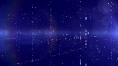 Technology background with binary code. Stock Footage