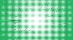 Comic speed radial background Stock Footage