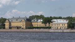 The Menshikov Palace. St. Petersburg Stock Footage