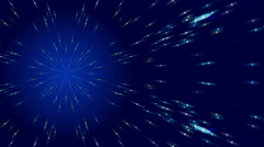 dark blue abstract background and stars, loop - stock footage