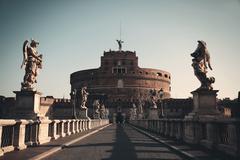 Castel Sant Angelo Rome Stock Photos