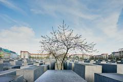 Cement blocks at the Holocaust Memorial, Berlin, Germany Kuvituskuvat