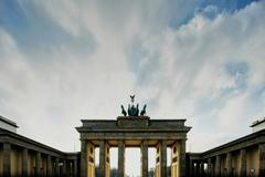 View of Brandenburg Gate, Berlin, Germany Stock Photos