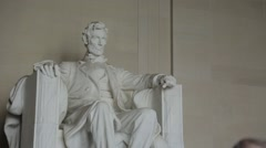 Shot of Lincoln Monument Stock Footage