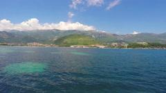 Budva, Montenegro View Stock Footage