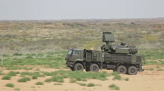 Pantsir-S1 (SA-22 Greyhound) Stock Footage