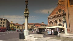 Basilica of Saint Anthony of Padua, ULTRA HD 4k, real time. Stock Footage