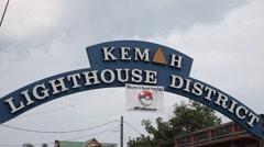 Pokemah Go festival in Kemah Texas. Stock Footage