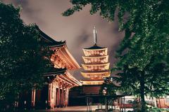 Tokyo temple Kuvituskuvat