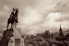 The Royal Scots Greys Monument Stock Photos