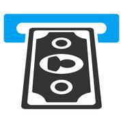 Payment Terminal Flat Vector Icon Stock Illustration