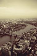 London aerial Kuvituskuvat