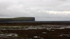 4K UltraHD A View towards Marwick Head, Orkney, Scotland Stock Footage
