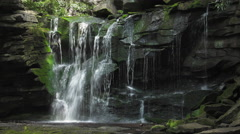 Elakala Water Falls Stock Footage