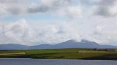 4K UltraHD Loch of Harray, Orkney, Scotland Stock Footage