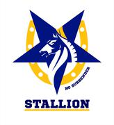 Horse. horse mascot logo. Stallion Stock Illustration