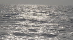 Ocean water surface slow motion Stock Footage