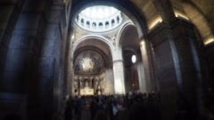 Heart of the Basilica Stock Footage