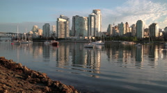 False Creek Morning Reflections, 4K, UHD Stock Footage
