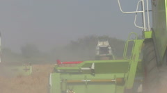Agricultural work with modern machinery - stock footage